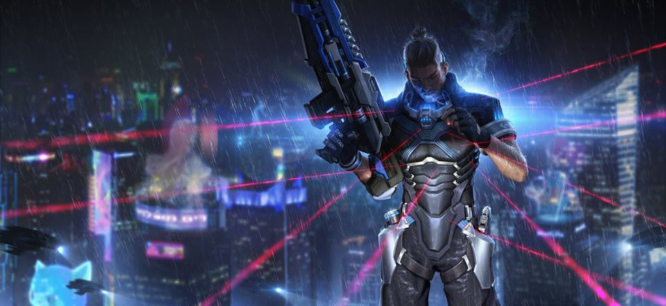 Cyber Hunter Battle Royale Game Wallpapers