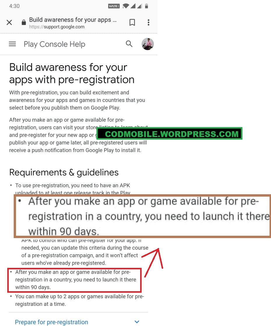 Google Will Force Call of Duty Mobile To Release Before 18th July 2019