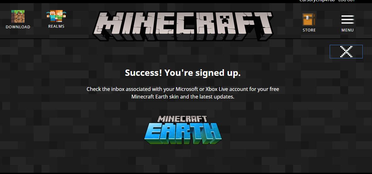 Pre-Register for Minecraft Earth Beta Version