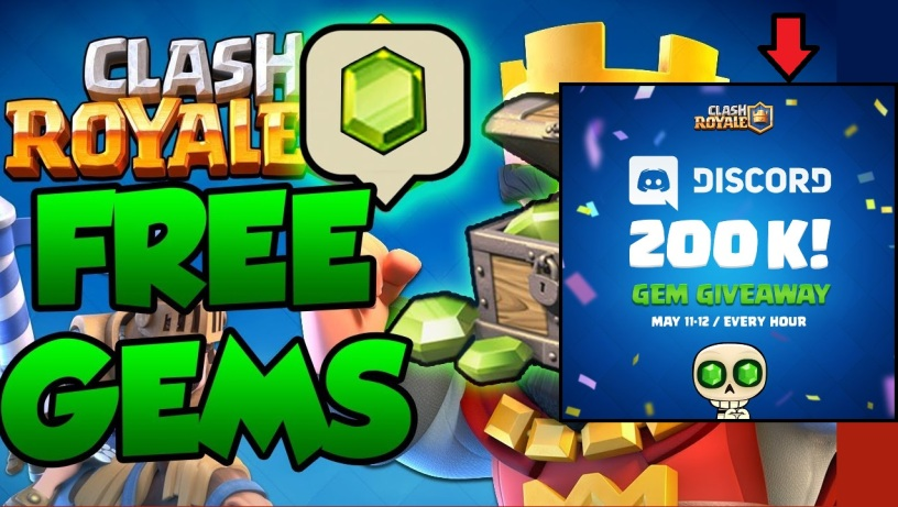 real free gems clash royale