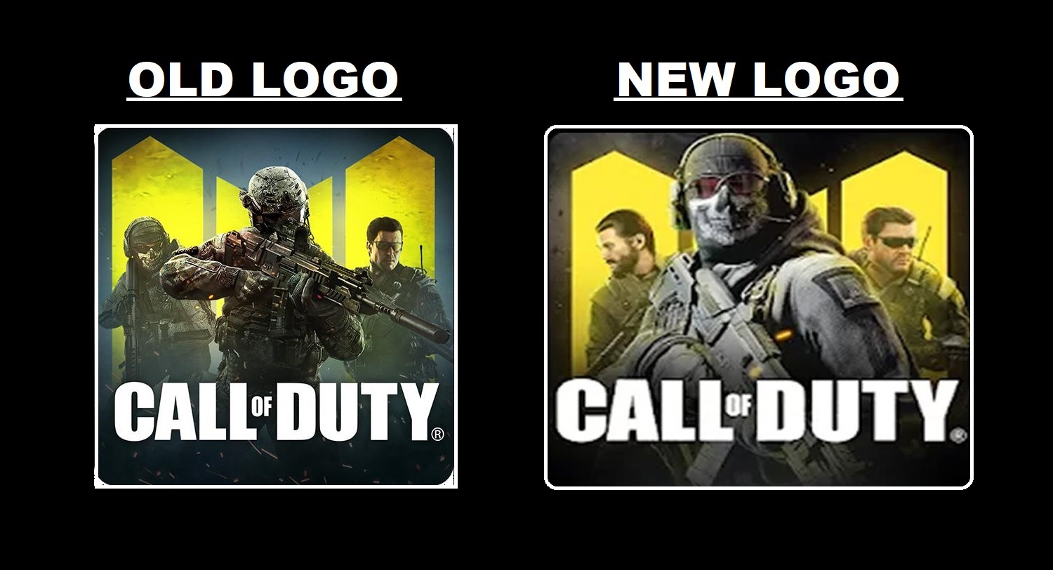 Call of Duty Mobile New Google Play Logo
