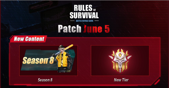 Rules of Survival Get's new Rank called 'Master'
